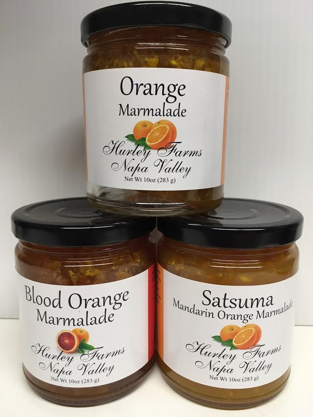 The best local orange marmalades