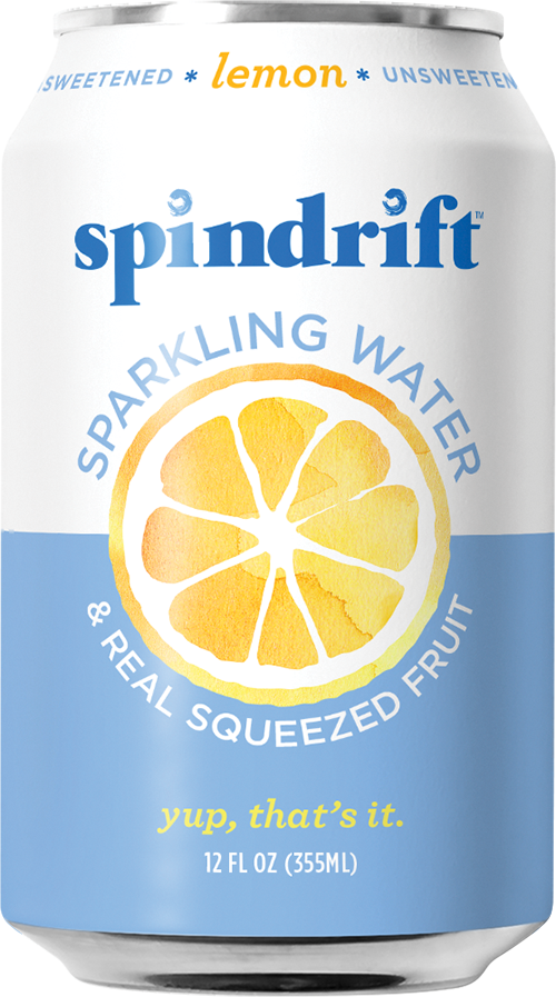 A refreshing sparkling water without any of the bad stuff!