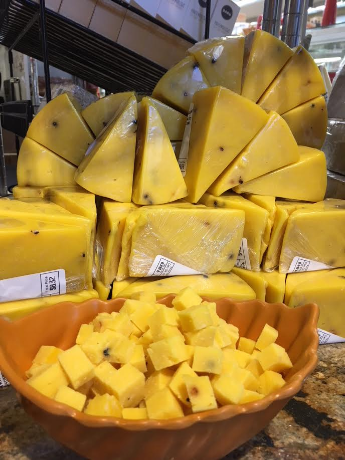 New! Saffron & Peppercorn Pecorino